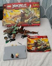 LEGO Ninjago 2509 Earth Dragon Defence 100% Complete with Instructions