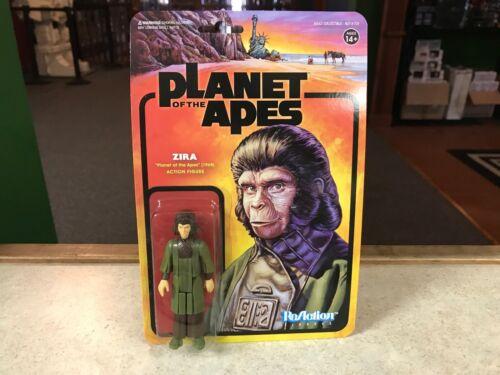 "2018 Super7 ReAction Planet of the Apes 1968 ZIRA 4/"" Figure MOC"