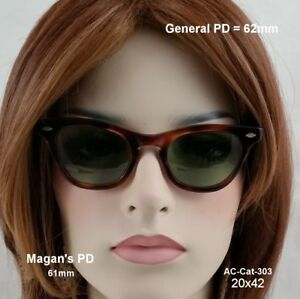 Art-Craft-Cat-Eye-True-Antique-Eyeglasses-amp-Case