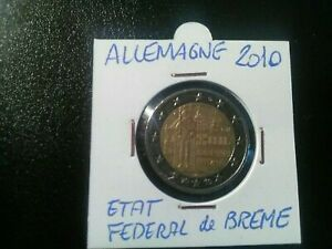 Fringant Pieces De Monnaie De 2 Euros Commémorative Allemande 2010 Ttb Magasin En Ligne