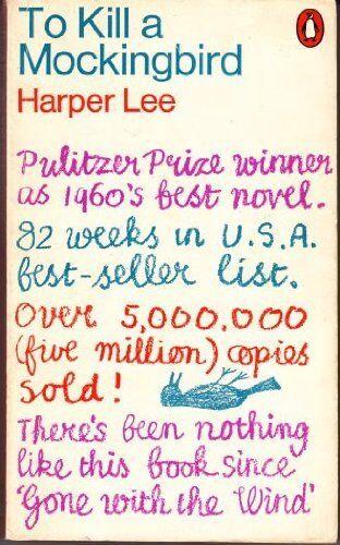 1 of 1 - To Kill a Mockingbird By Harper Lee. 0140019294