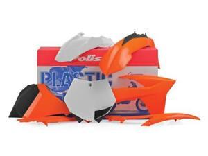 Kit-plastique-POLISPORT-origine-KTM-SX-SXF-125-250-350-450-2011-2012