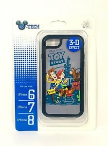 Disney-Parks-Toy-Story-Woody-Jessie-Bullet-3D-Apple-iPhone-6S-7-8-Phone-Case-New