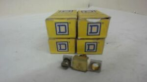 LOT OF 4 --- SQUARE D 1-A1.75 OVERLOAD RELAY THERMAL UNIT