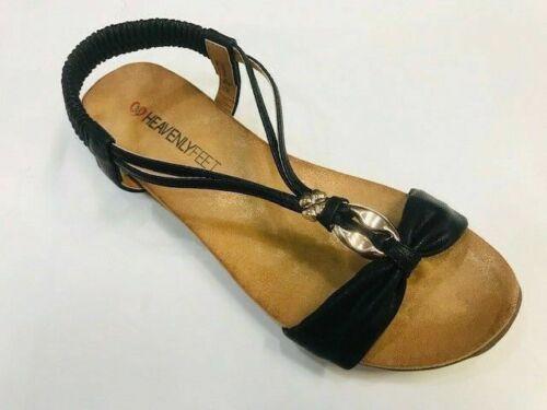 Heavenly Feet Campri Memory Form Soft Flex Comfort Sole Sandal Mules