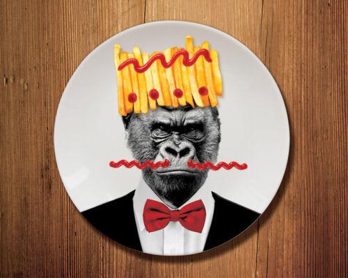 Wild Dining Teller 23 cm Ø Gorillaca
