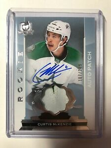 2014-15-Upper-Deck-The-Cup-Curtis-McKenzie-RPA-Rookie-Patch-Auto-249