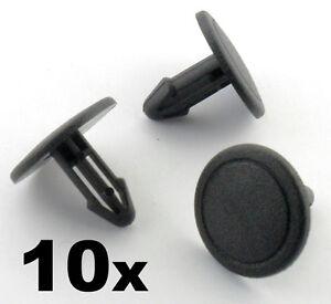 10x-Honda-Windscreen-Cowl-Scuttle-Panel-Plastic-Retainer-Trim-Fastener-Clips