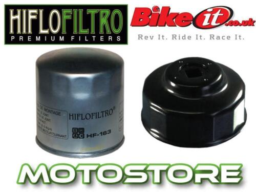 WHITE ZINC OIL FILTER /& REMOVAL TOOL FITS BMW R1150 GS ADVENTURE 2002-2005