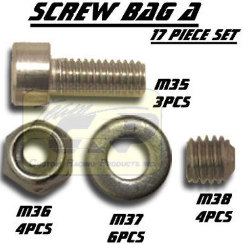 SCREW BAG A  Stainless Steel SRB Tamiya Ford Ranger F-150 XLT RC  Team CRP 5141