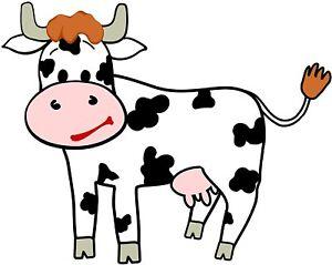 Aufkleber Lustige Kuh Sticker Fur Kinder Deko Kinderzimmer