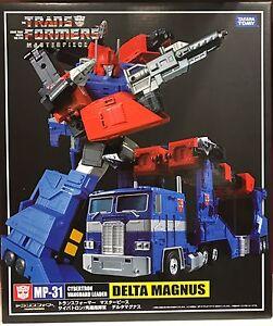 Transformers Masterpiece MP-31 Delta Magnus Takara Tomy MISB