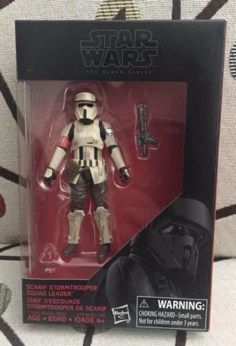 3.75 IN - SCARIF Stormtrooper Squad Leader-Menthe en Boîte Scellée environ 9.52 cm Star Wars Black Series