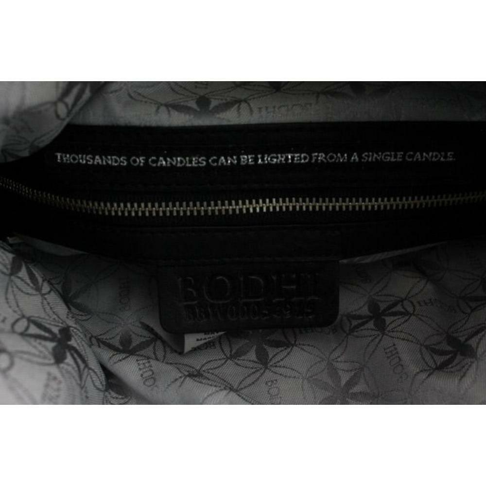 Bodhi Handbags 5473 Womens Eastside Black Leather Tote Handbag Medium Bhfo Ebay