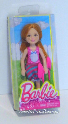 Barbie Chelsea & Friends Doll Dress Up Fun Bunny Red Hair CGF43