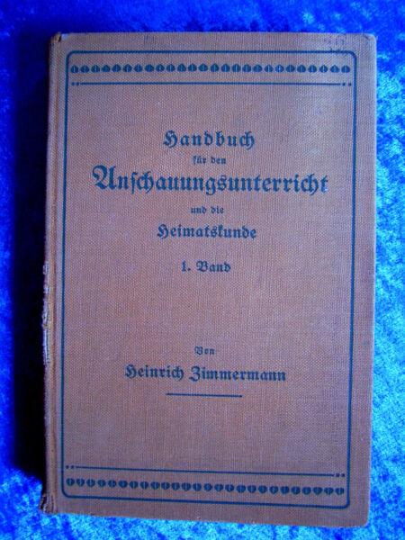 """""""handbuch Für Den Anschauungsunterricht Und Die Heimatskunde – Mit Besonder..."""" 100% Hochwertige Materialien"""