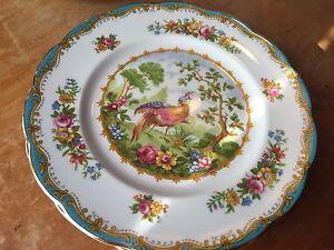 4 Royal Albert Bread and Butter Plates Chelsea Bird England #839184