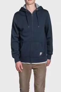Marshall Franklin Navy Mannensweater met capuchon Rxw7qX