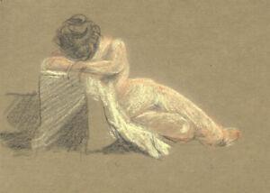 George-William-Collins-1863-1949-Drawings-Nude-Studies