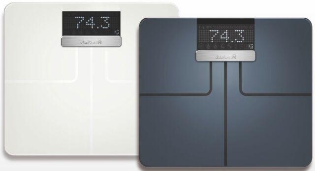 New In Box Garmin Index Smart Scale Black Or White  010-01591-00 010-01591-01