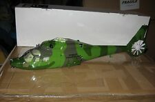 Walkera Lama 400 Helicopter Fuselage Jungle Camo + Landing Gear and Accessories