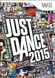 JUST DANCE 2015 * NINTENDO Wii * BRAND NEW FACTORY SEALED!