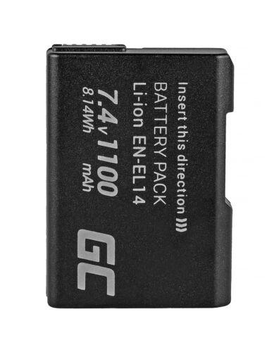 EN-EL14A VFB10602 Reemplazo De La Batería Para Nikon Cámara 1100mAh