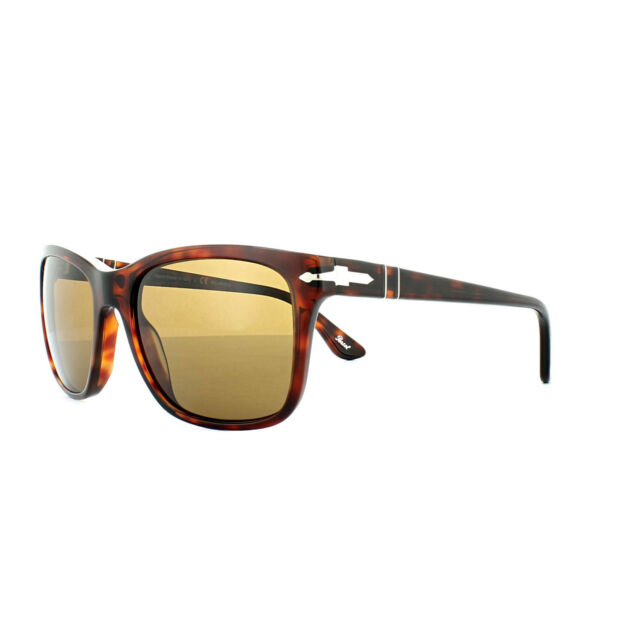 3047e498188b6 Persol PO 3135s 24 57 CAFFE Frame Brown Polarized Lens Sunglasses 55 ...