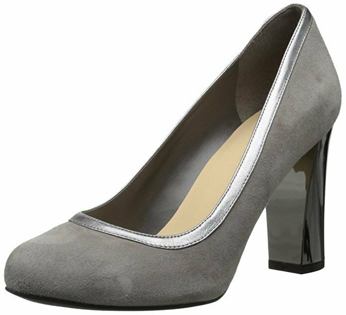 180 Cole Haan Edie High Party Pump Heel Suede chaussures femmes gris 9 NEW IN BOX