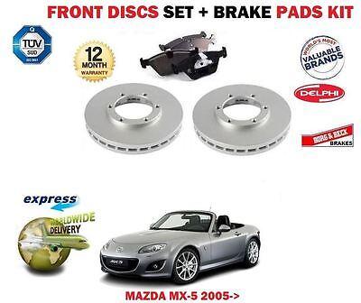 MAZDA MX5 EUNOS 1.8 BRAKE DISCS BRAKE PADS FRONT