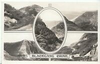 Isle of Wight Postcard - Views of Blackgang Chine - Real Photograph  BH2821