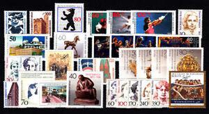 BERLIN-Jahrgang-1988-Nr-798-829-postfrisch-komplett