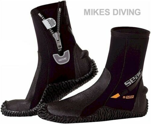 SEAC HD basic Boots - Wetsuit diving surfing Boots 5mm Neoprene SURF