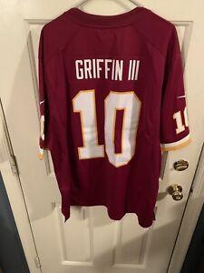 Details about RG III Robert Griffin III XXL 2XL Wasington Redskins Jersey