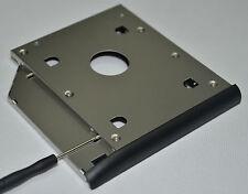2nd Hard Drive SSD HDD SATA Caddy Adapter for HP EliteBook 2530p 2540p + Bezel
