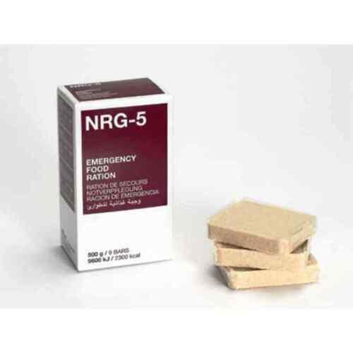 Notration Energieriegel NRG-5 Notnahrung 23,90 EUR//kg Langzeitnahrung