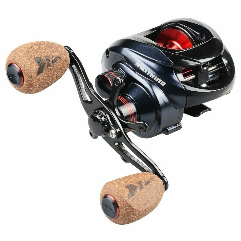 Reel Baitcast Dual  Brake System Fishing Method Bait Casting Weight 230 g 2 color  new branded