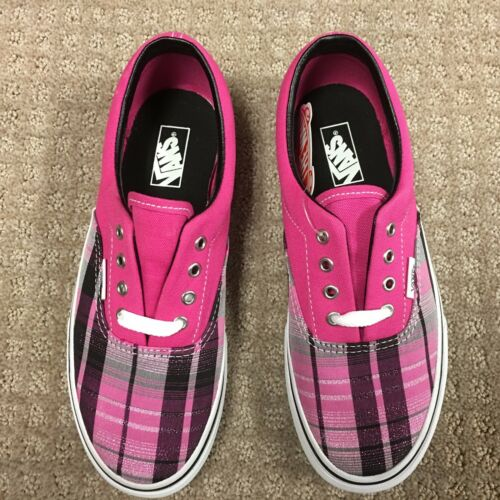 Zapatos Cuadros purpurina Niño Era Rspbrryrs Vans 4wYvdqv