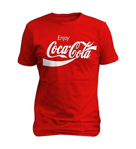 Coca-Cola-Enjoy-Logo-Men-T-shirt