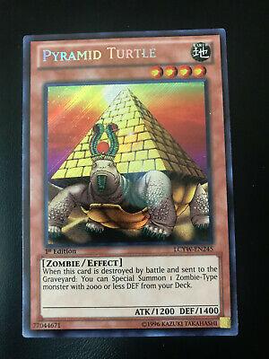 Yugioh: PYRAMID TURTLE - Unlimited Edition - Secret Rare NM//M LCYW-EN245 -