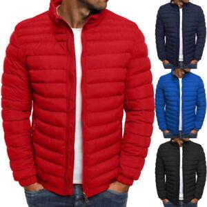 Men-039-s-Puffer-BUBBLE-Down-Jacket-Coat-leggero-trapuntato-imbottito-pieghevole-SUPER-Outwear
