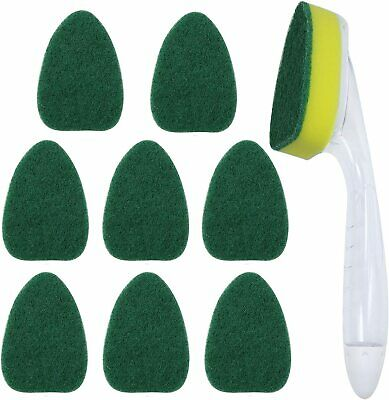 24 Pieces Dish Wand Refills Sponge Heads Brush Sponge Refills Clean Sponge Brush Refill Replacement Heads for Kitchen Cleaning Tools