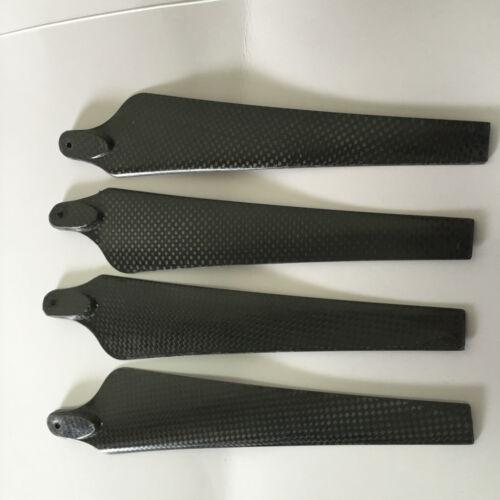 1852 18 inch Carbon Fiber Folding Propeller Prop CW//CCW 4p RC DJI Compatible HOT