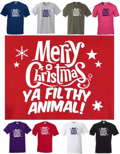 MERRY CHRISTMAS New Funny CHRISTMAS T-SHIRT Regular cut T S to 5XL