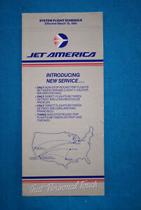 Jet-America-System-Timetable-March-18-1985