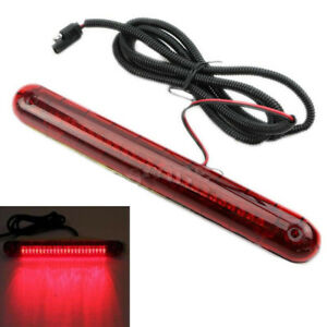LED-3te-Bremsleuchte-Bremslicht-Zusat-Stoplicht-Rot-12-24V