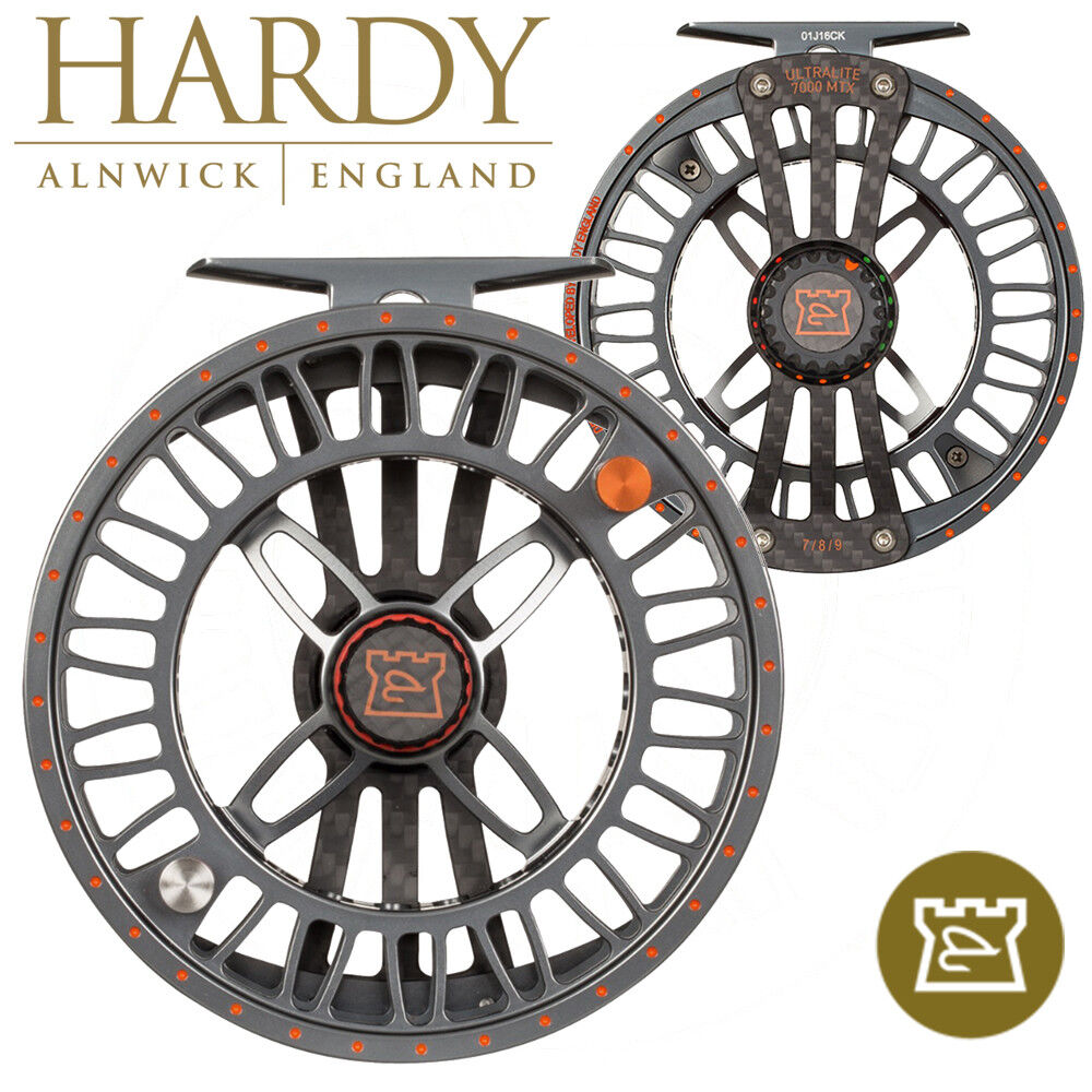 Hardy Ultralite MTX Carbon Fibre Alloy Hybrid  Fly Fishing Reel NEW 2018  high quality & fast shipping