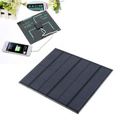 New best Solar Panel two sockets Battery Charger high efficiency 6 Cell Phone