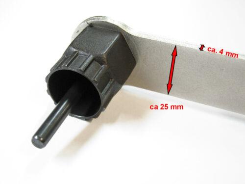 Ritzel Abzieher Kettenpeitsche TAQ Matrix für Kassette Shimano SRAM kompatibel