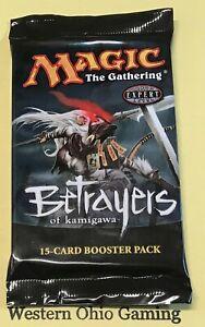 MTG-Magic-Betrayers-of-Kamigawa-Booster-Pack-from-Box-NEW-Champions-Block